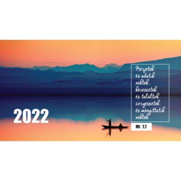 Zsebnaptár 2022 (7/7) – horgász (Kérjetek és adatik nektek..) - Csak rendelésre!