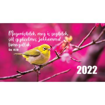 Zsebnaptár 2022 (7/3) – madár (Megerősítelek, meg is segítelek..) - Csak rendelésre!