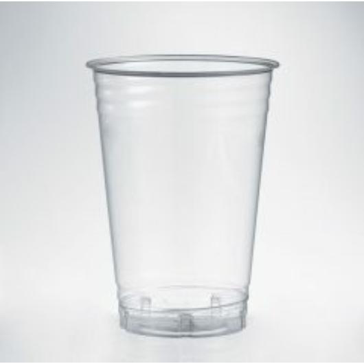 PLA pohár szintjelöléssel, 2 dl, lebomló, hideg italokhoz | 18 Ft/db, 100db
