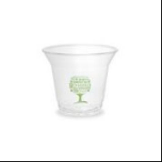PLA pohár, standard, Green Tree, 2,5 dl, lebomló, hideg italokhoz | 45 Ft/db, 50db