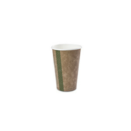 Teás pohár, 3,4 dl, lebomló, barna | 44 Ft/db, 1000db