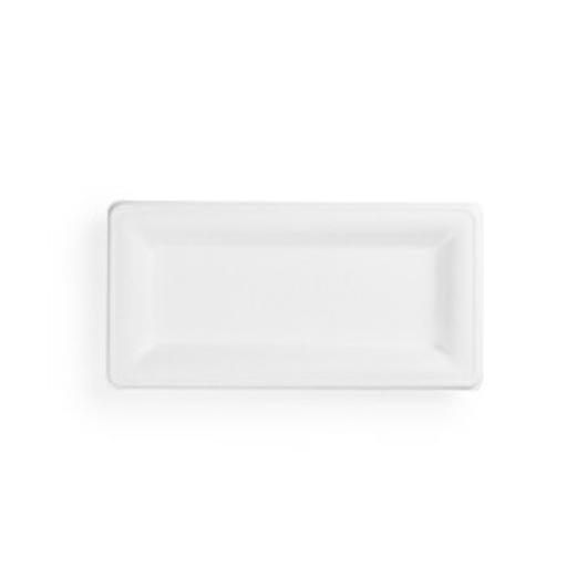Cukornád tányér, téglalap, 25*13 cm,| 41 Ft/db, 50db