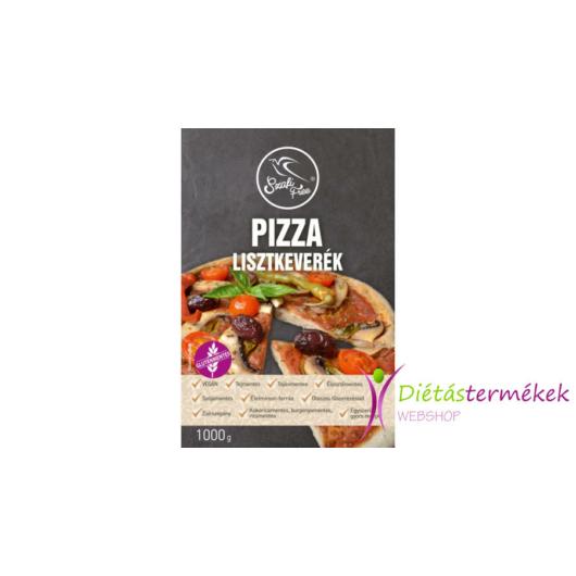 SZAFI FREE PIZZA LISZTKEVERÉK 1000 G (GLUTÉNMENTES, TEJMENTES, TOJÁSMENTES, MAGLISZTMENTES, ZSÍRSZEGÉNY, VEGÁN)