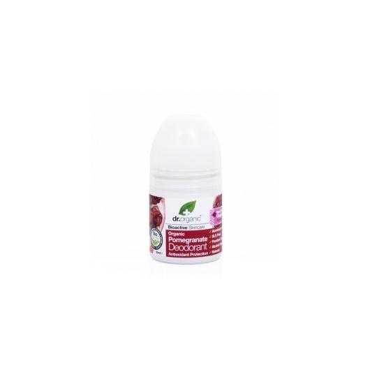 Dr. Organic Bioaktív golyós dezodor - Gránátalma
