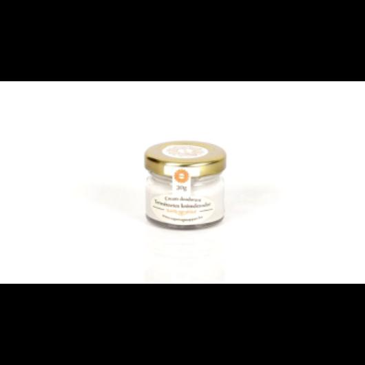 Napvirág Frissítő krémdezodor extra szűz kókuszolajjal, citromfű, teafa illattal