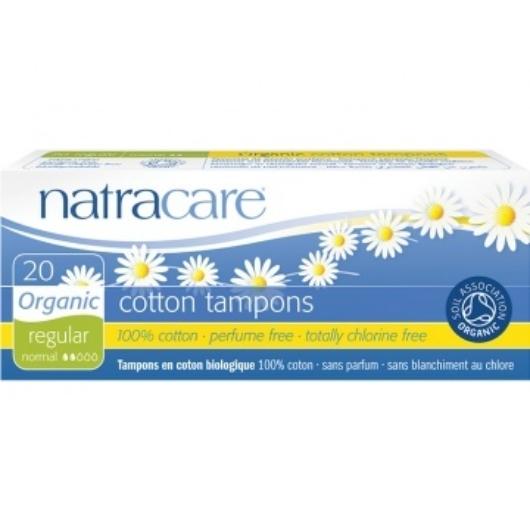 Natracare BIO pamut tampon - normál - 20 db