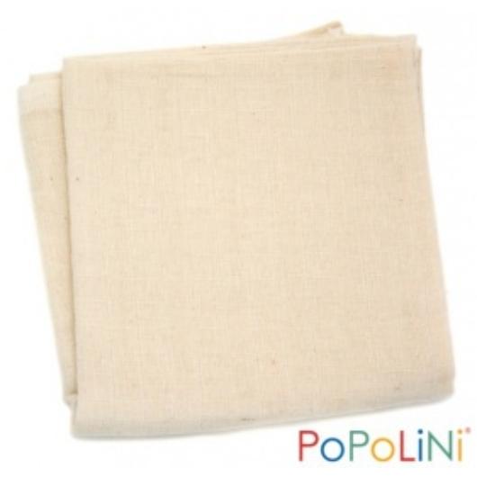 PoPoLiNi biopamut textil (tetra) pelenka - 80x80 cm (3 db)