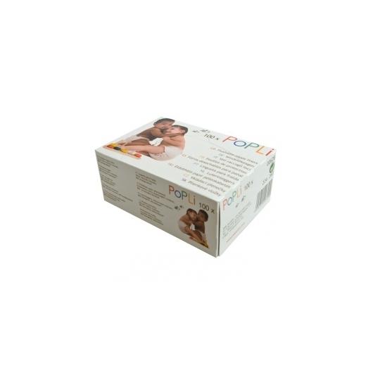 PoPoLiNi PoPLi eldobható papír pelenkabetét (kakifogó)