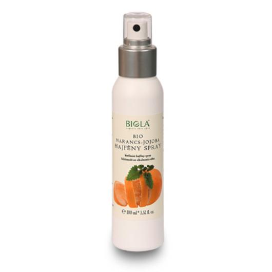 Biola Bio narancs-jojoba hajfény spray