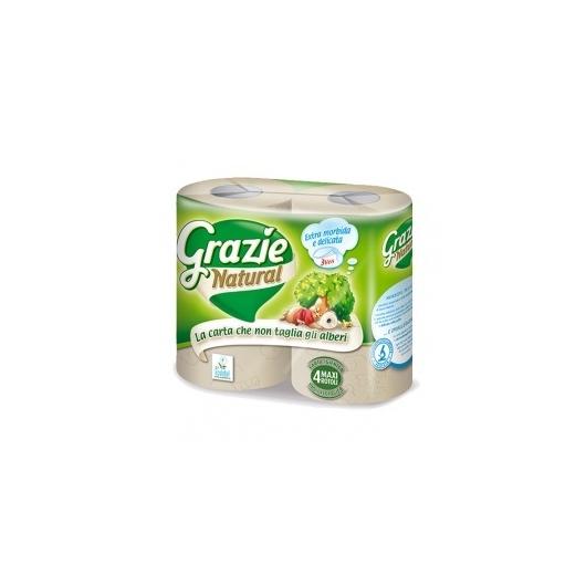 Grazie Öko WC papír, újrapapírból - 3 rétegű - 4 tekercs/csomag