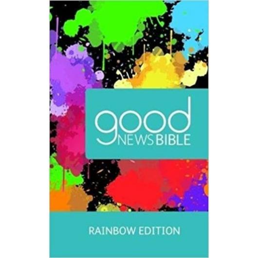 Angol Biblia Good News Bible Rainbow Edition