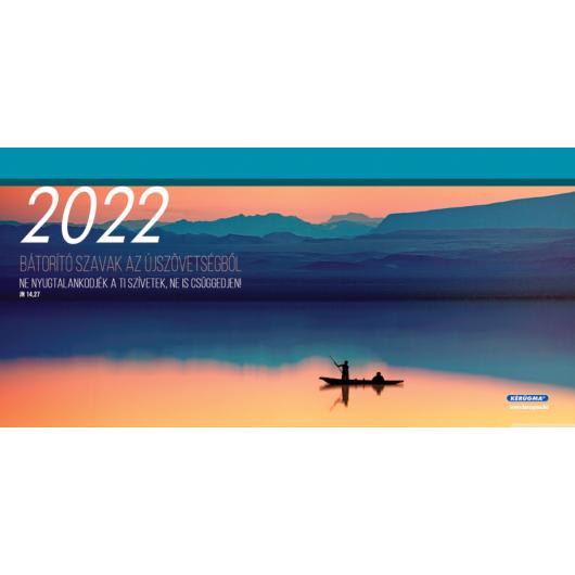 Nagy asztali naptár 2022 (6/1) Bátorító szavak az Újszövetségből