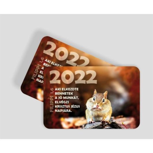 Kártyanaptár csomag (10db) 09