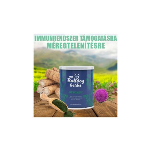 My Bulldog Herbs - Detoxify, szervezet, véráram és mellékszervek méregtelenítésére