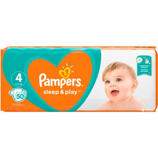 Pampers pelenka Sleep&Play Maxi 9-14kg 50db