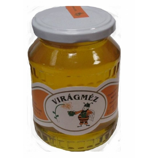 Méz virág 500g üveges, 2db