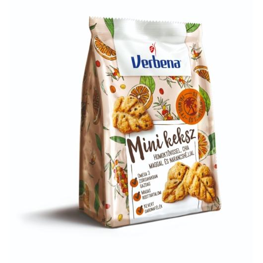 Verbena keksz 90g narancs-homoktövis, 2db