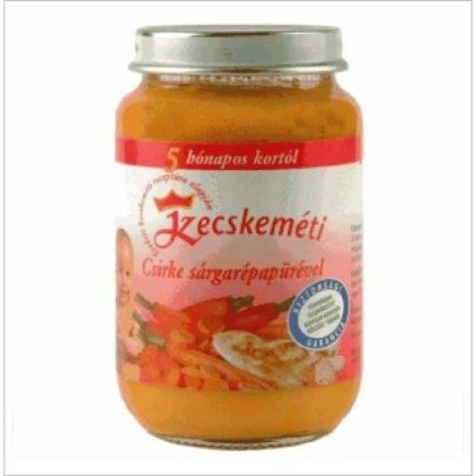 Kk bébiétel 5hó s.répa csirke 190g, 2db