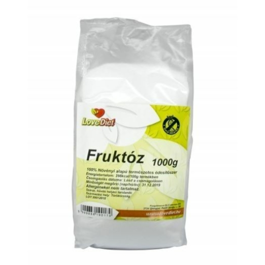 Love Diet Fruktóz 1000g, 2db