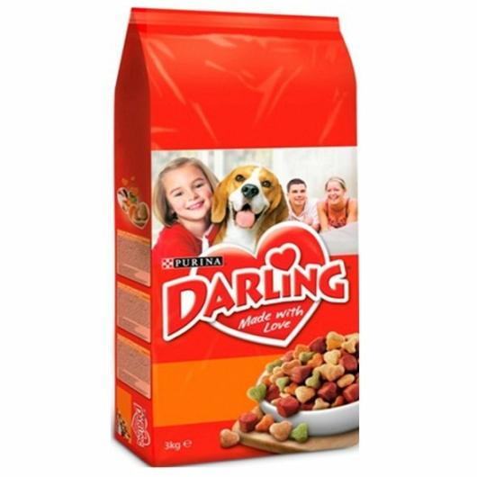 Darling kutyatáp 3kg szárnyas-zöldség, 2db